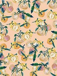 Cocktail Garten Geschenkpapier-Heft - Motiv Blaubeeren - Produktdetailbild 3
