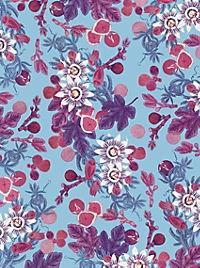 Cocktail Garten Geschenkpapier-Heft - Motiv Feigen - Produktdetailbild 1