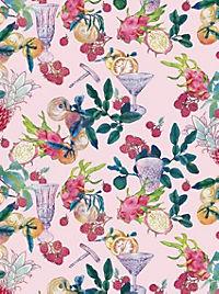 Cocktail Garten Geschenkpapier-Heft - Motiv Feigen - Produktdetailbild 4