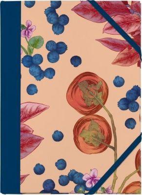 Cocktail Garten Sammelmappe - Motiv Blaubeeren