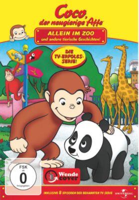 Coco, der neugierige Affe - Allein im Zoo und andere tierische Geschichten, Joe Fallon, Craig Miller, H. A. Rey