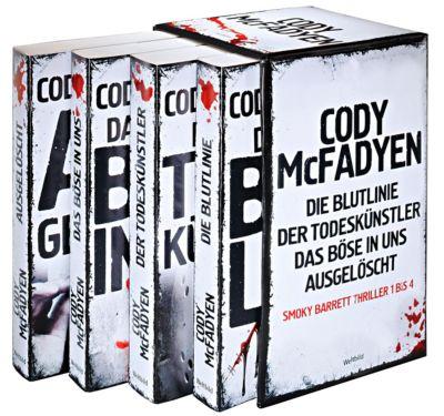 Cody McFadyen Schuber - 4 Bände, Cody McFadyen