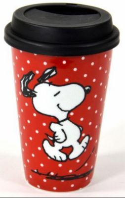 coffee to go becher p nktchen peanuts bestellen. Black Bedroom Furniture Sets. Home Design Ideas