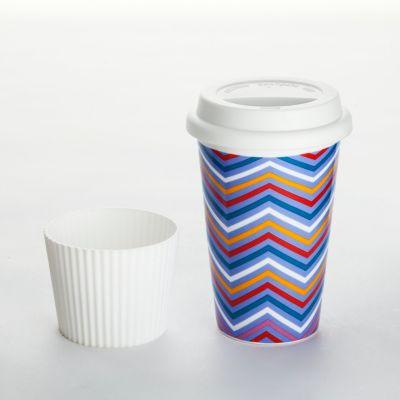 coffee to go becher zickzack jetzt bei bestellen. Black Bedroom Furniture Sets. Home Design Ideas