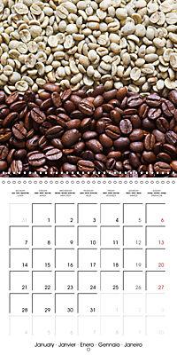 coffee (Wall Calendar 2019 300 × 300 mm Square) - Produktdetailbild 1