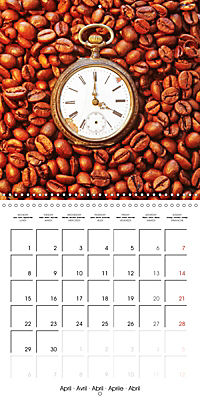 coffee (Wall Calendar 2019 300 × 300 mm Square) - Produktdetailbild 4