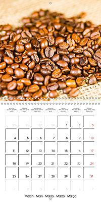 coffee (Wall Calendar 2019 300 × 300 mm Square) - Produktdetailbild 3