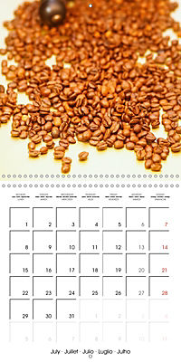 coffee (Wall Calendar 2019 300 × 300 mm Square) - Produktdetailbild 7