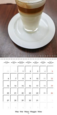 coffee (Wall Calendar 2019 300 × 300 mm Square) - Produktdetailbild 5