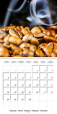 coffee (Wall Calendar 2019 300 × 300 mm Square) - Produktdetailbild 2
