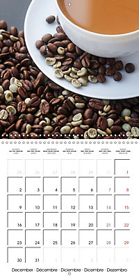 coffee (Wall Calendar 2019 300 × 300 mm Square) - Produktdetailbild 12