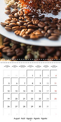 coffee (Wall Calendar 2019 300 × 300 mm Square) - Produktdetailbild 8