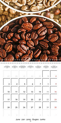 coffee (Wall Calendar 2019 300 × 300 mm Square) - Produktdetailbild 6