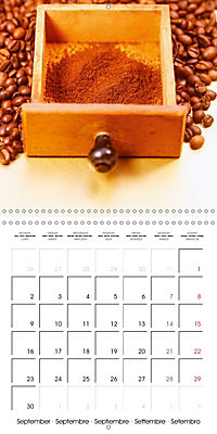 coffee (Wall Calendar 2019 300 × 300 mm Square) - Produktdetailbild 9
