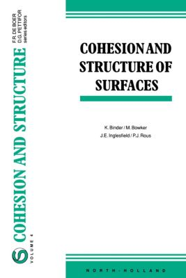 Cohesion and Structure: Cohesion and Structure of Surfaces