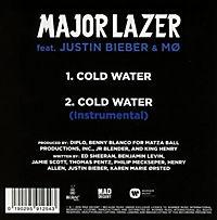Cold Water (Feat. Justin Bieber & MO) (2-Track Single) - Produktdetailbild 1