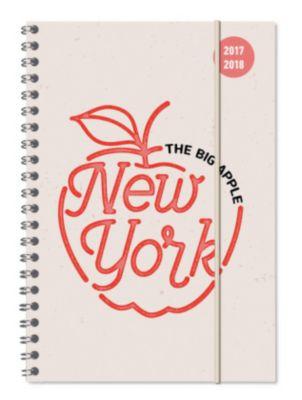 Collegetimer  A5 New York 2017/2018