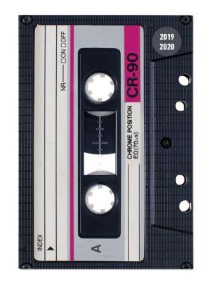 Collegetimer Tape 2019/2020 - Kassette - Schülerkalender A6