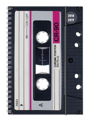 Collegetimer Tape Ringbuch 2018/2019, ALPHA EDITION