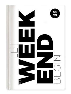 Collegetimer Typo 2017/2018 - Schülerkalender A5 - Weekly - 224 Seiten