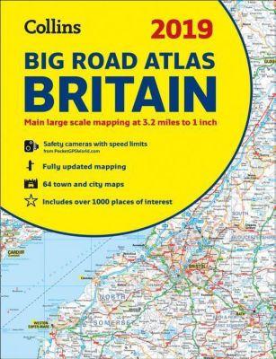 Collins Big Road Atlas Britain 2019
