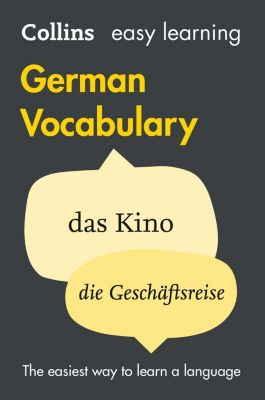 Collins: Easy Learning German Vocabulary (Collins Easy Learning German), Collins Dictionaries