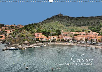 Collioure - Juwel der Côte Vermeille (Wandkalender 2019 DIN A3 quer), Thomas Bartruff