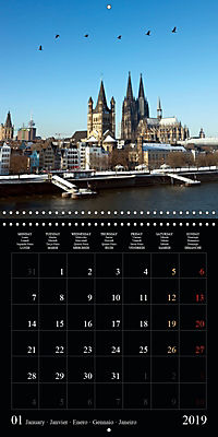 Cologne cathedral (Wall Calendar 2019 300 × 300 mm Square) - Produktdetailbild 1