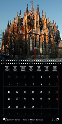Cologne cathedral (Wall Calendar 2019 300 × 300 mm Square) - Produktdetailbild 2