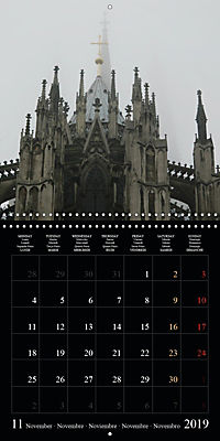 Cologne cathedral (Wall Calendar 2019 300 × 300 mm Square) - Produktdetailbild 11