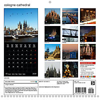 Cologne cathedral (Wall Calendar 2019 300 × 300 mm Square) - Produktdetailbild 13