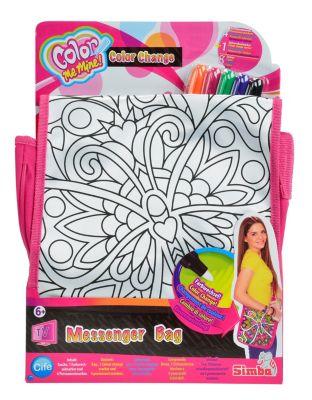 Color Me Mine - Color Change Messenger Bag