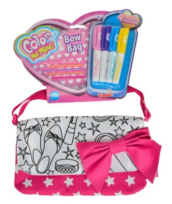 Color Me Mine - Pink Bow Bag