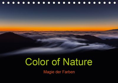 Color of Nature - Magie der Farben (Tischkalender 2019 DIN A5 quer), Thomas Klinder