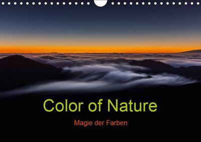 Color of Nature - Magie der Farben (Wandkalender 2019 DIN A4 quer), Thomas Klinder