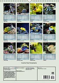 Colorful Reef Inhabitants (Wall Calendar 2019 DIN A3 Portrait) - Produktdetailbild 13