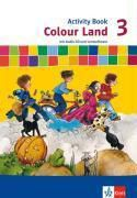 Colour Land, Neuausgabe: 3. Schuljahr, Activity Book m. Audio-CD u. CD-ROM