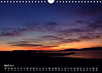 Coloured skies (Wall Calendar 2019 DIN A4 Landscape) - Produktdetailbild 4