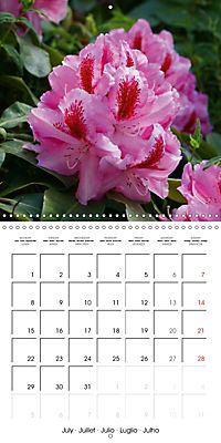 Colourful Rhododendron (Wall Calendar 2019 300 × 300 mm Square) - Produktdetailbild 7
