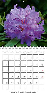 Colourful Rhododendron (Wall Calendar 2019 300 × 300 mm Square) - Produktdetailbild 8