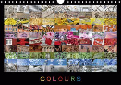 Colours (UK-Version) (Wall Calendar 2019 DIN A4 Landscape), Martin Ristl