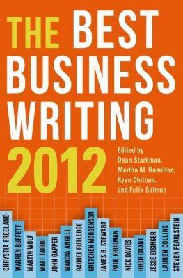 Columbia University Press: Best Business Writing 2012