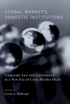 Columbia University Press: Global Markets, Domestic Institutions