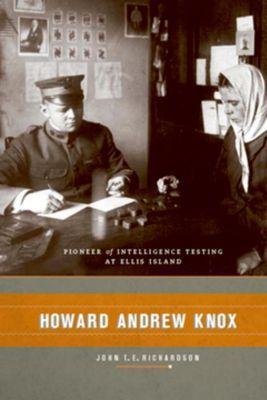 Columbia University Press: Howard Andrew Knox, John Richardson