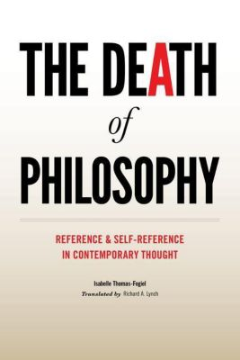 Columbia University Press: The Death of Philosophy, Isabelle Thomas-Fogiel