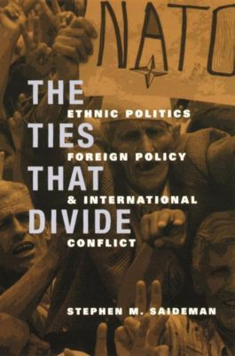 Columbia University Press: The Ties That Divide, Stephen M. Saideman