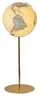 Columbus Globen: Columbus Royal Standglobus, Messingfuß