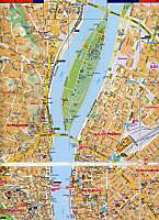 Comfort! map & guide Budapest - Produktdetailbild 1
