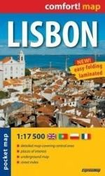 Comfort! map, pocket map Lisbon