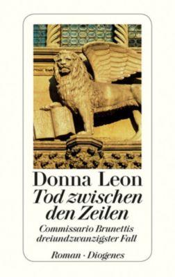 Commissario Brunetti Band 23: Tod zwischen den Zeilen, Donna Leon